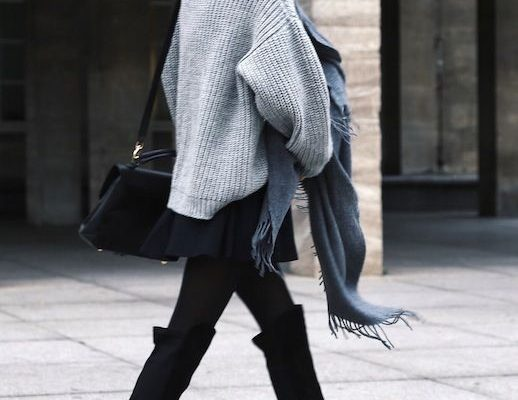 How To Wear Over The Knee Boots In Winter