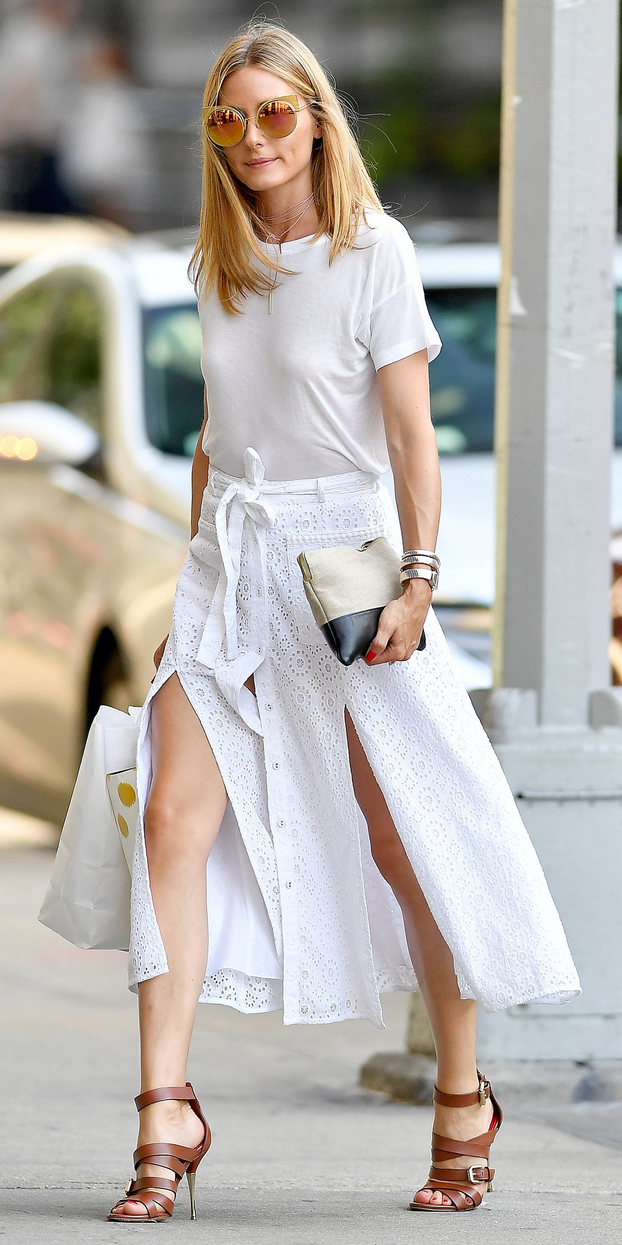 How to Style Over the White Tee in Spring